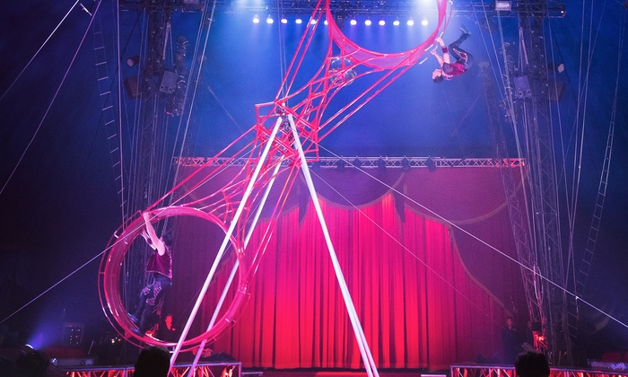 Circus Vargas - Earl Warren Showgrounds: Circus Vargas at Earl Warren Showgrounds on June 11–14 (Up to 52% Off)