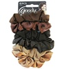 Goody Ouchless Satin Hair Scrunchies (6-Pack)
