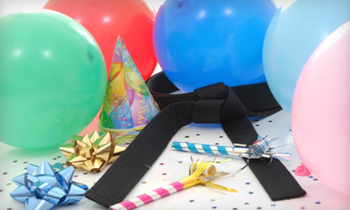 Premier Martial Arts - Huntingdon Valley: $49.99 for a Kids' Martial-Arts Birthday Party for Up to 20 at Premier Martial Arts ($199 Value)