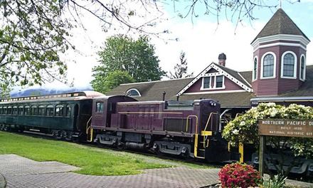 One or Two Round-Trip Locomotive  Rides at the Northwest Railway Museum (Up to 33% Off)