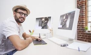 1, 2, 3, 4 o 5 módulos de curso online de experto en diseño gráfico desde 9,90 €