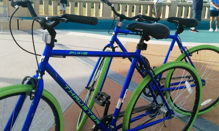 Dallas City Tours - Downtown Dallas: All-Day Bike Rental for Two, Four, Six, or Eight from Dallas City Tours (Up to 45%Off)