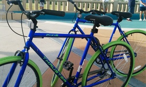 Dallas City Tours: All-Day Bike Rental for Two, Four, Six, or Eight from Dallas City Tours (Up to 45%Off)