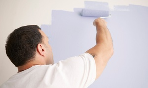 Non solo Imbianchino: Imbiancatura fino a 150 m² con una parete colorata con Non solo Imbianchino, in 2 province (sconto fino a 85%)
