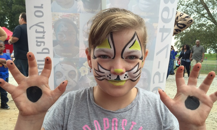 Smiling Faces Party Entertainment - Atlanta: $100 for $200 Groupon for Face Painting — Smiling Faces Party Entertainment