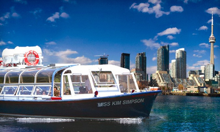 Toronto Harbour Tours - Downtown Toronto: $10 for Boat Tour of Toronto Harbour and Islands from Toronto Harbour Tours (Up to $28.44 Value)