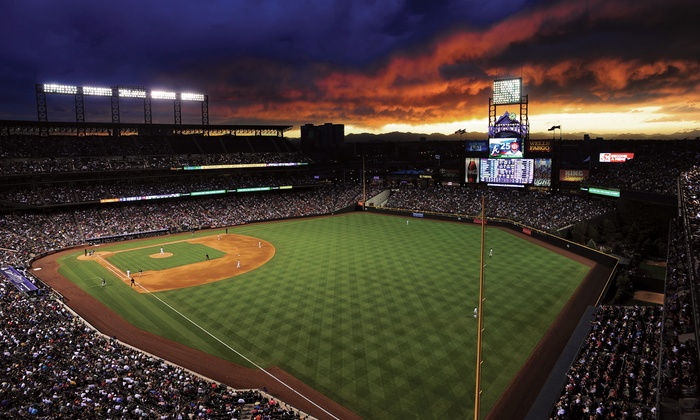 Colorado Rockies - Coors Field: One Ticket to a Colorado Rockies Game at Coors Field (Up to 51% Off).  Two Seating Options and 13 Games Available.