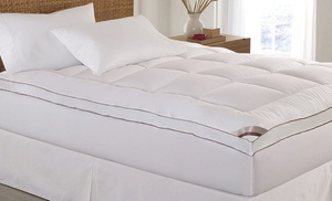 Kathy Ireland 2 Quot Thick Cotton Fiber Mattress Topper Groupon