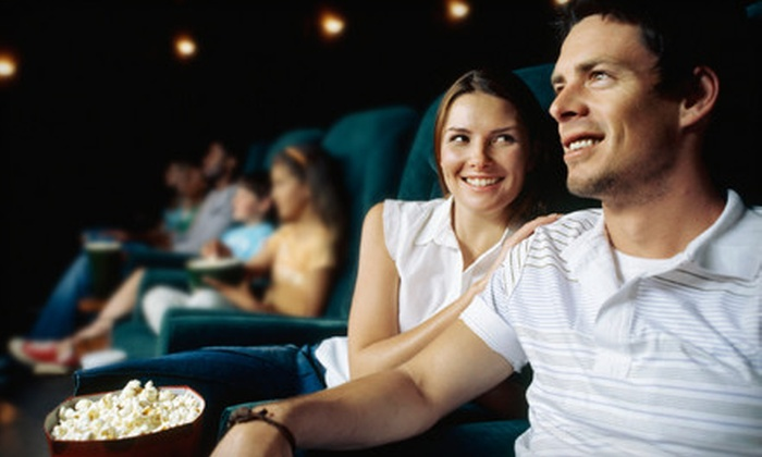 Fox Bay Cinema Grill - Whitefish Bay: $10 for a Movie Outing for Two with a Small Popcorn at Fox Bay Cinema Grill in Whitefish (Up to $21.99 Value)
