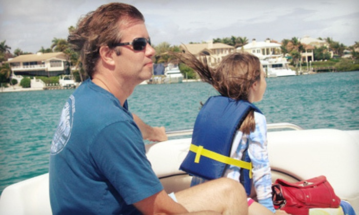 Lacuna Tours - Palm Beach Gardens: $125 for a Two-Hour BYOB Semi-Private Boat Tour for Two from Lacuna Tours ($250 Value)