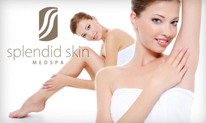 Splendid Skin Medspa - East Louisville: $90 for Three Laser Hair-Removal Treatments at Splendid Skin Medspa