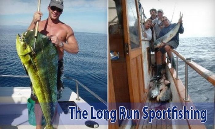 The Long Run Sportfishing - Midway District: $750 for a Six-Hour Sportfishing Trip for Six With The Long Run Sportfishing ($1,500 Value)