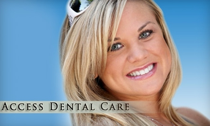Access Dental Care - North Providence: $49 for an Exam with X-rays or an Exam with Teeth Cleaning  (Up to $225 Value), or $99 for Take-Home Whitening System for One Arch ($497 Value) at Access Dental Care in North Providence