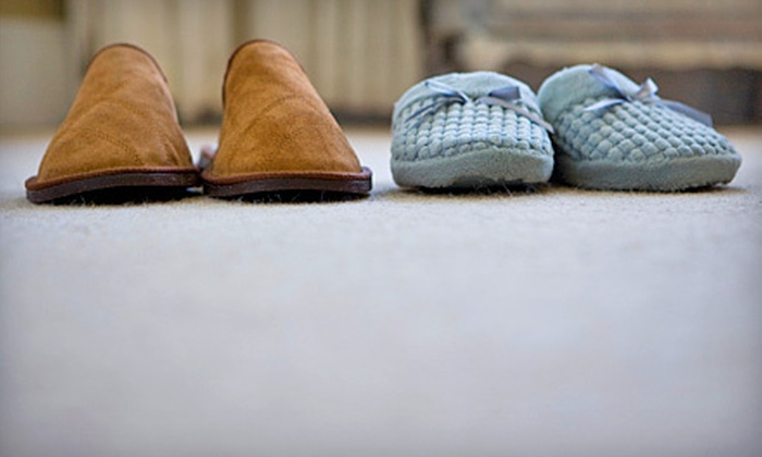 Captain Carpet Care - Multiple Locations: Carpet Cleaning from Captain Carpet Care (Up to 59% Off). Three Options Available.