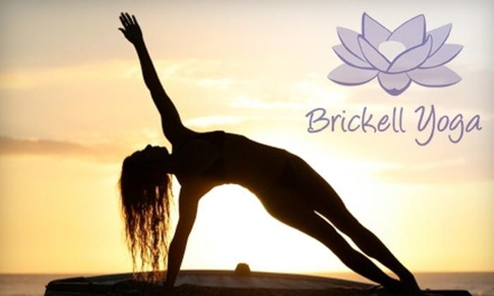 Miami Yogashala Brickell - Coral Way: $40 for Any Five Yoga Classes at Miami Yogashala Brickell