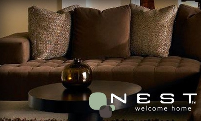 Nest Interiors - Downtown Vancouver: $50 for $250 Worth of Merchandise or a Good Interior Design Package at Nest Interiors ($250 Value)