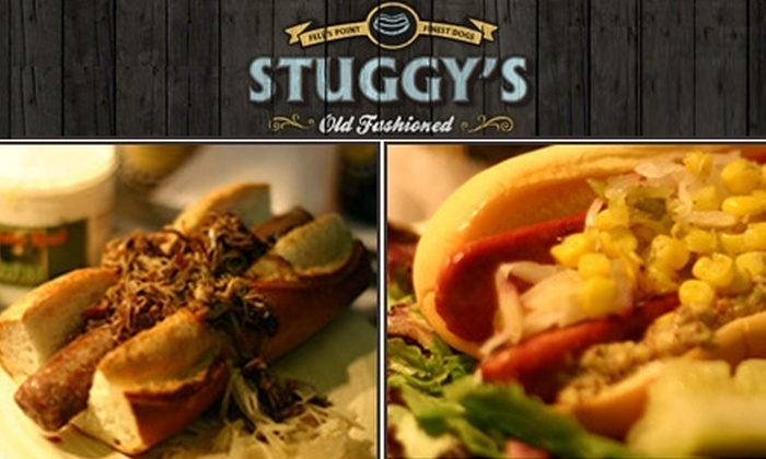 Stuggy's - Fells Point: $5 for $10 Worth of Gourmet Hot Dogs, Sausages, Soda Floats, and More at Stuggy's