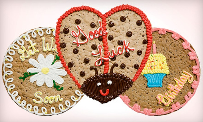 Mrs. Fields - West Loop : $20 for One 16-Inch Cookie Cake or 24 Cookies at Mrs. Fields ($40 Value)