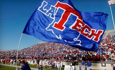 Ticketmaster: Louisiana Tech Bulldogs vs. New Mexico State Aggies on Sat., Nov. 26 at 3PM: General-Admission - Louisiana Tech Football in Ruston