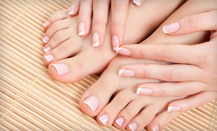 New Set of Gel or Acrylic Nails (a $65 value) - Patty with Destinations Salon and Spa in Sparks