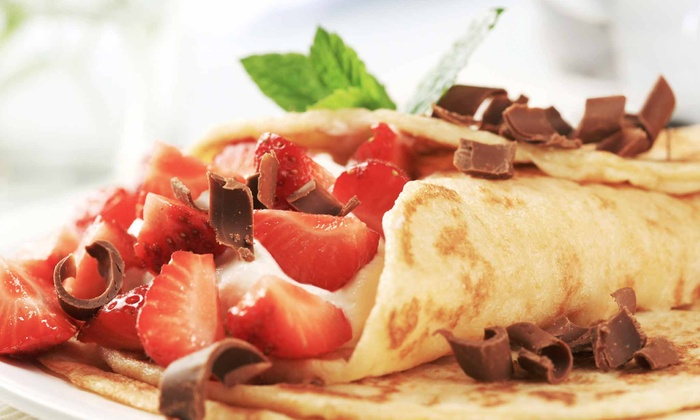 Spoon Frozen Yogurt Lounge - Byward Market - Parliament Hill: C$6 for C$10 Worth of Crepes, Waffles, and Chocolate Fondue at Spoon Frozen Yogurt Lounge