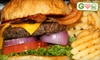 Paradise Casual Grill CLOSED - Downtown Jeffersonville: $8 for Two Build-Your-Own Burgers with Fries and Soft Drinks at Paradise Casual Grill in Clarksville ($15.98 Value)