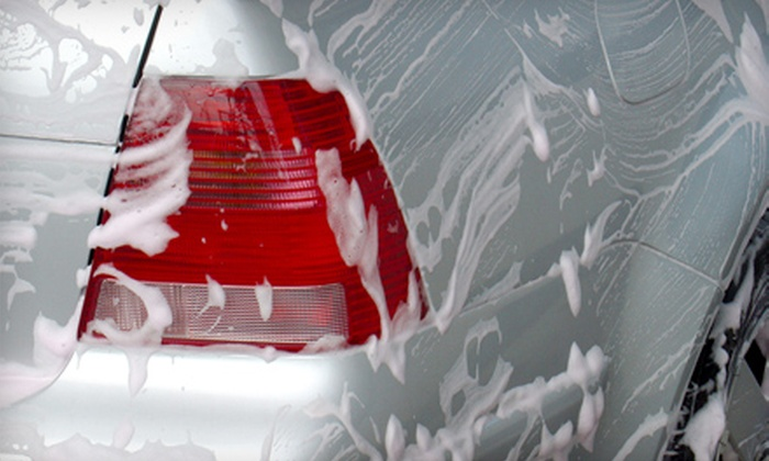 Spot Dry - Miami: Exterior Hand Car Wash and Wax at Spot Dry in Coral Gables. Three Options Available.