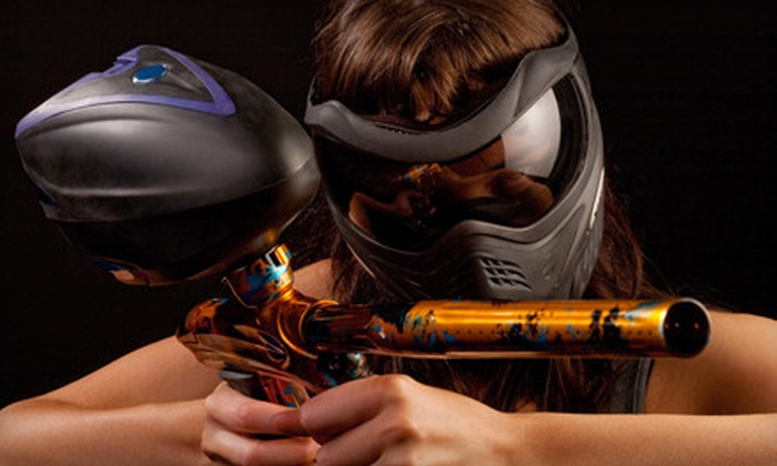 NVP Paintball - Indoor: One Day of Paintball and Gear Rental for Two or Four at NVP Paintball (Up to 61% Off)