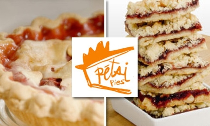 Petsi Pies - Multiple Locations: $20 Worth of Fresh Pies and Baked Goods at Petsi Pies