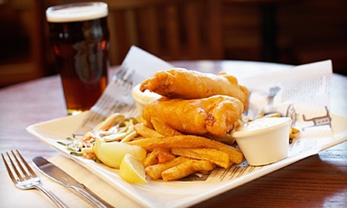 Streets of London Pub - Multiple Locations: $10 for $20 Worth of English Fare and Drinks at Streets of London Pub. Three Locations Available.