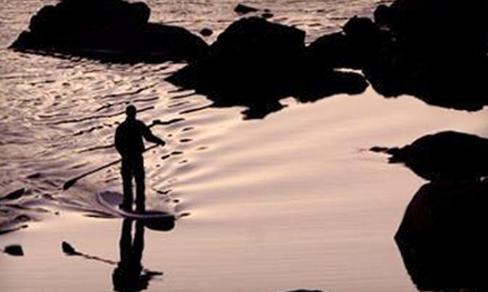 Valley Mill Kayak School - Multiple Locations: $69 for Three-Hour Beginner Stand-Up Paddleboarding Lesson at Valley Mill Kayak School in Potomac ($139 Value)