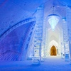 Dazzling Hotel Made Entirely of Ice & Snow