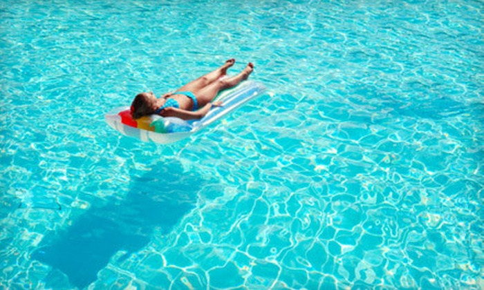 Aquanut Pool Care - Downtown: Green Algae Cleanup, Four Weekly Pool-Cleaning Visits, or Sand-Filter Change from Aquanut Pool Care (Up to 70% Off)