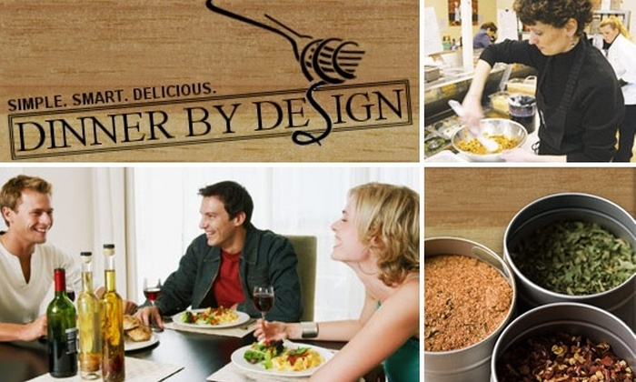 Dinner by Design–Glenview - Chicago: $75 for Home-Cooked Meals Delivered Right to Your Door ($140 Value)
