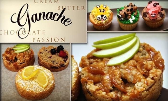 Ganache Dessert Kitchen - Airport: $5 for $12 Worth of Decadent Desserts at Ganache Dessert Kitchen