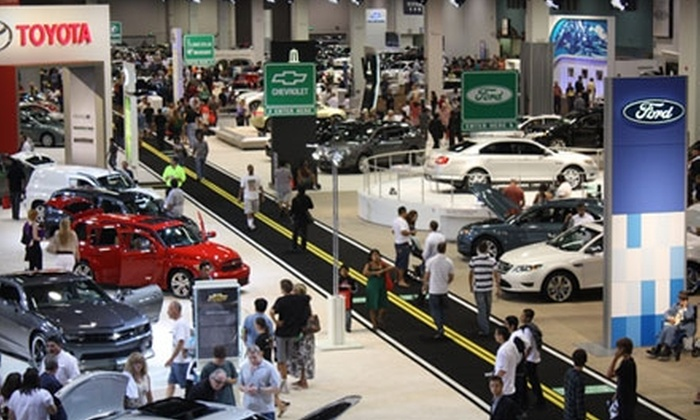 For AutoShow Admission Motor Trend Auto Shows Groupon - San jose international car show