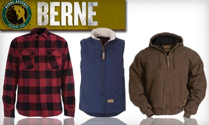 Berne Apparel: $25 for $50 Worth of Work and Outdoor Attire Online from Berne Apparel