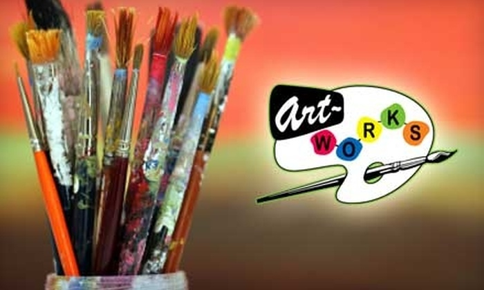 Art Works Studio and Classroom - Multiple Locations: $50 for Four Art Start or Family Fun Art Classes at Art Works Studio and Classroom ($110 Value)