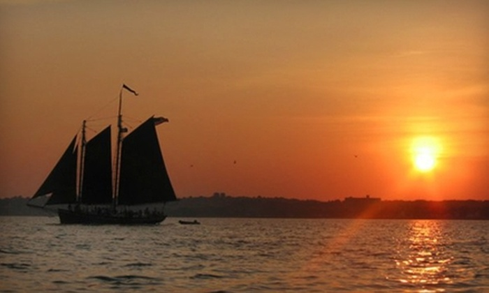 Schooner Inc - Hill: Two-Hour Cruise from Schooner Inc in New Haven. Two Options Available.