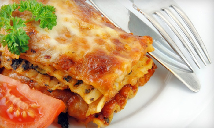 Vitale's of Comstock Park - Grand Rapids: Italian Meal for Two or Four Including Appetizers, Pasta or Pizza, Dessert, and Your Choice of Draft Beer or House Wine at Vitale's of Comstock Park