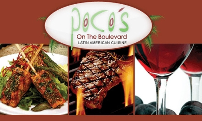 Poco's on the Boulevard - Kansas City: $10 for $20 Worth of Contemporary Latin American Fare from Poco's on the Boulevard