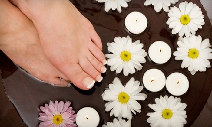 Spa Mia Bella - Maryville: $40 for Facial and Pedicure at Spa Mia Bella in Maryville (Up to $82 Value)