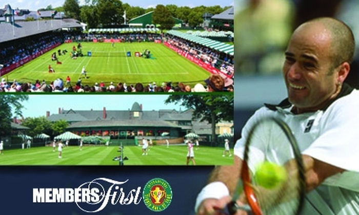 International Tennis Hall of Fame & Museum - Newport: $50 for a One-Year Ace Membership Package at the International Tennis Hall of Fame & Museum in Newport, RI ($100 Value)
