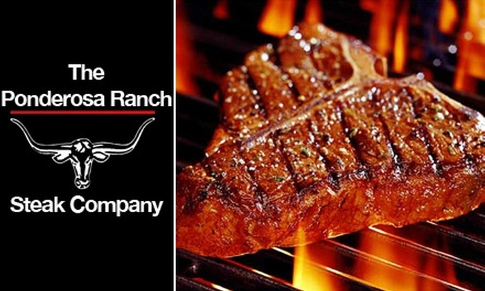 Ponderosa Ranch Steak Company - Denver: $114 for 24 All-Natural, Gourmet Steaks from Ponderosa Ranch Steak Company ($263 Value)