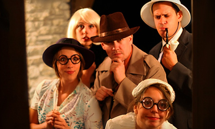 The Murder Mystery Company - West Grand: $25 for Murder-Mystery Dinner-Show from The Murder Mystery Company at Brann's Sizzling Steaks & Sports Grille ($55 Value)