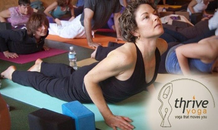 Thrive Yoga - Rockville: $35 for Five Drop-In Yoga Classes at Thrive Yoga ($85 Value)