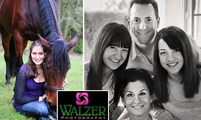 Walzer Photography - Multiple Locations: $65 for a Photography Session and Three Prints at Walzer Photography ($246 Value)