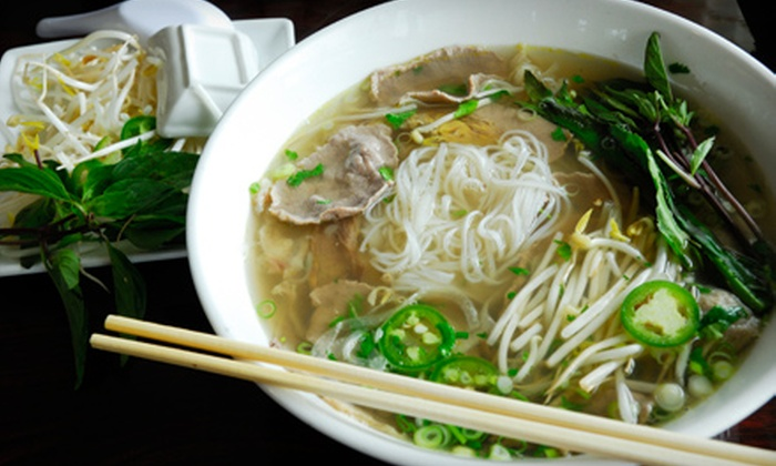 What The Pho! - Multiple Locations: $10 for $20 Worth of Vietnamese Fare at What the Pho!