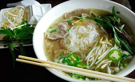 $20 Groupon to What The Pho! - What The Pho! in Bothell