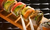 $26 for Deluxe Sushi Dinner and Drinks for Two